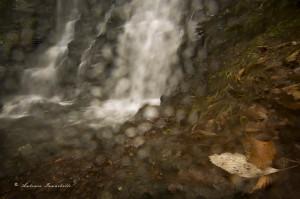 La cascata si ribella