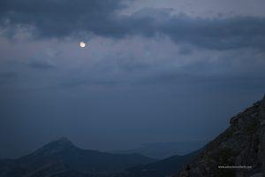luna sul mare, Golfo di Sibari